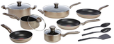 T-Fal Metallics Non-Stick Cookware Set (12 PC)