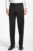 Canali Men's Pleated Trousers