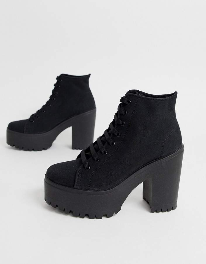 a9cfc2dd4ed Chunky Sole Boots - ShopStyle UK