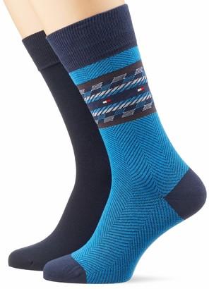 Tommy Hilfiger Men's Th Sock 2p Fairisle