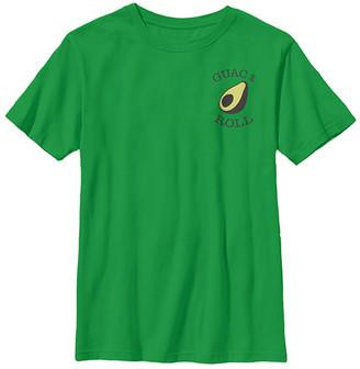 Fifth Sun Boys' Tee Shirts KELLY - Kelly Green 'Guac & Roll' Avocado Crewneck Tee - Boys
