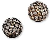 Bloomingdale's Brown Diamond Stud Earrings in 14K Yellow Gold, .85 ct. t.w.