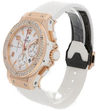Hublot Women's Rubber Diamond Watch