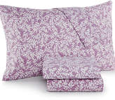 Jessica Sanders Printed King 4-Pc Sheet Set, 220 Thread Count, Created for Macy's