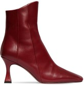 Atelier Manu 80MM XX DUCK LEATHER ANKLE BOOTS