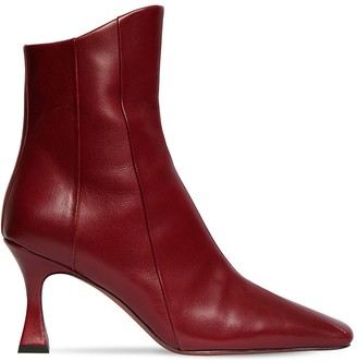 MANU Atelier 80mm Xx Duck Leather Ankle Boots