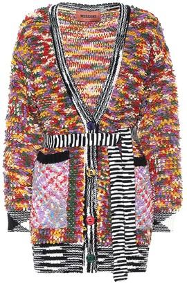Missoni Wool-blend belted cardigan