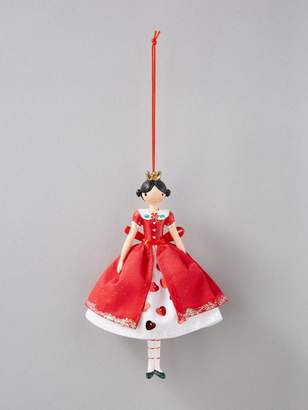 Gisela Graham Queen and Mad Hatter Christmas Tree Decorations (Set of 2)