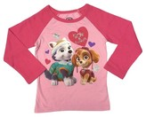 Paw Patrol Skye and Everest Toddler Girls' Long Sleeve Thermal T-Shirt - Pink