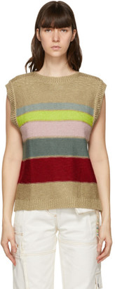 ANDERSSON BELL Multicolor Boat Neck London Sweater
