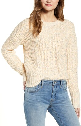 Lucky Brand Marled Crewneck Sweater
