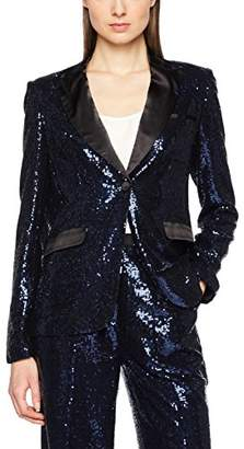 MACKINTOSH Millie Women's Sequin Sparkle Jacket in Midnight Suit Jacket