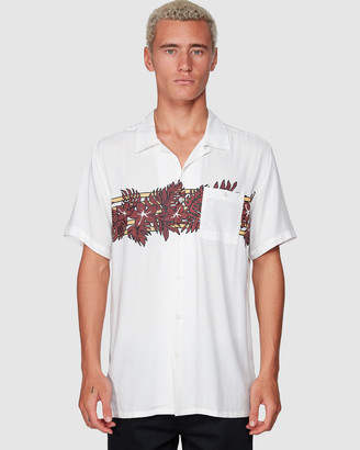 Billabong Stubbies Floral Short Sleeve Shirt