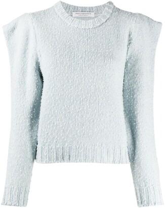 Philosophy di Lorenzo Serafini Structured Shoulder Wool Jumper