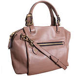 Oryany Pebble Leather Satchel - Alexis