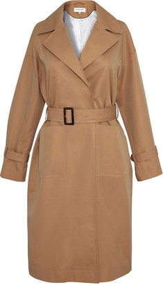 Gerard Darel Dalila - Belted Cotton Canvas Trench