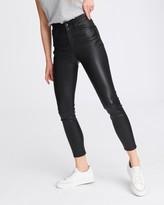 Rag & BoneRag and Bone Nina high-rise ankle skinny leather pant