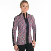 SnowAngel Snow Angel Women's Snow Angel Ultima Full-Zip Fleece Moto Top
