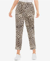 Vince Camuto Animal-Print Pull-On Pants