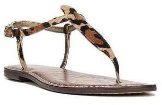 Sam Edelman Gigi T-Strap Flat Sandals Women Shoes