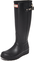 Hunter Boots Original Tall Wedge Back Strap Boots