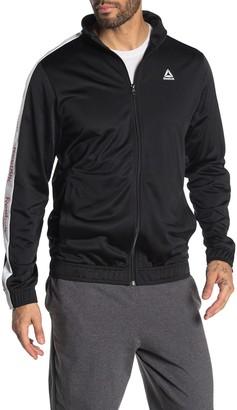 Reebok Stripe Sleeve Track Jacket