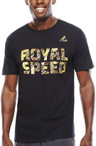 adidas Short-Sleeve Royal Speed Tee