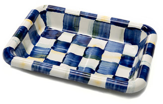 Mackenzie Childs Royal Check Simply Soap Dish