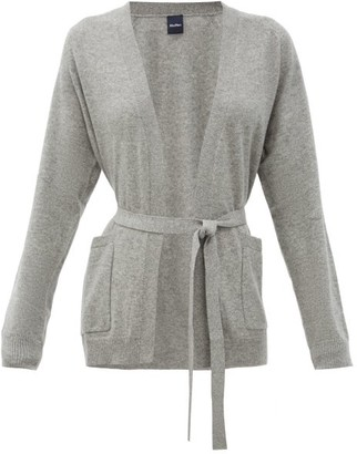 MAX MARA LEISURE Ragazza Cardigan - Grey