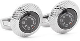 Tateossian - Compass Rhodium-plated Cufflinks