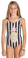 Billabong Girl's Beach Bandit One-Piece Swimsuit