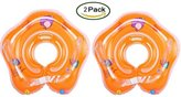 Jingying 2 Pack Floating Swim Ring PVC Inflatable Baby Shoulder Strap Swimming Ring