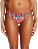 Nanette Lepore Women's Pretty Tough Charmer Bikini Bottom