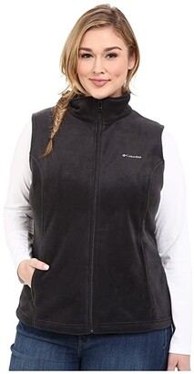Columbia Plus Size Benton Springstm Vest (Black) Women's Jacket