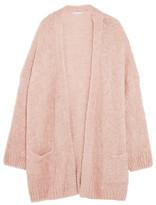 Eberjey Lana Bouclé-knit Cardigan - Blush