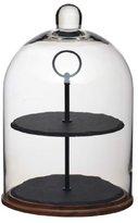 "Kitchen Craft Master Class Artesà 2-Tier Serving Stand / Cake Dome, 22 x 31.5 cm (8.5"" x 12.5"")"