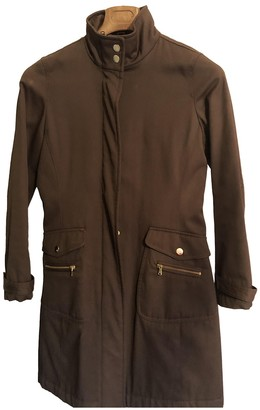 Fay Brown Trench Coat for Women