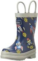 Hatley Retro Rocket Rain Boot (Inf/Yth) - Blue - 12 Toddler