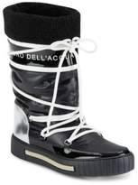 Alessandro Dell'Acqua Faux Fur Trimmed Boots