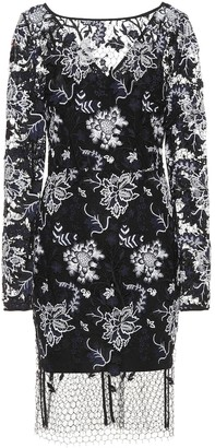 Diane von Furstenberg Embroidered lace dress