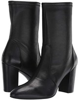 Stuart Weitzman Yuliana 80 (Black Stretch Nappa) Women's Boots