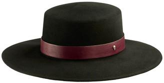 Helen Kaminski Talitha Wool Boater Hat