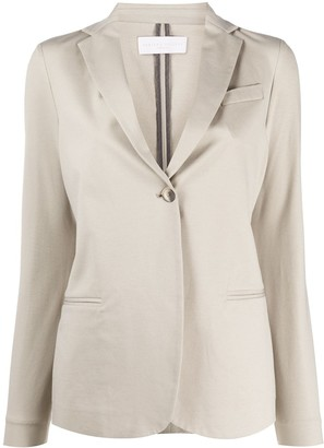 Fabiana Filippi Fitted Single-Buttoned Blazer