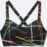 Uniqlo Women's Sprz Ny Active Cross-back Seamless Bra (niko Luoma)