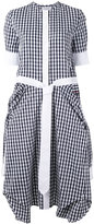 Thom Browne checked dress - women - Cotton - 40