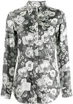 Thom Browne floral button down shirt