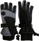 N'Ice Caps Men's Extreme Cold Weather Premier Colorblock Ski Glove with Air Hole
