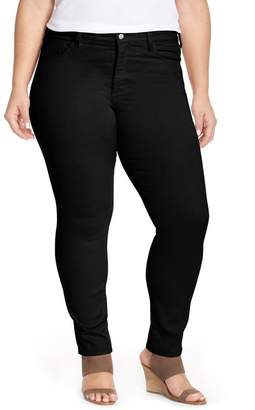NYDJ Alina Colored Stretch Skinny Jeans (Plus Size)