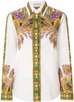 Etro mixed Indian print shirt