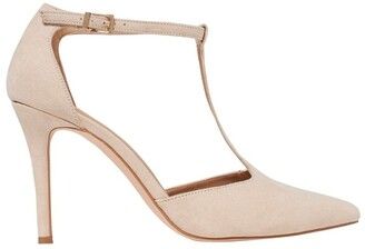 Forever New Alyssa T-Bar Pointed Court Shoes